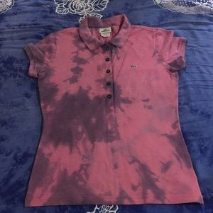 Lacoste Women's Tie Dyed Polo